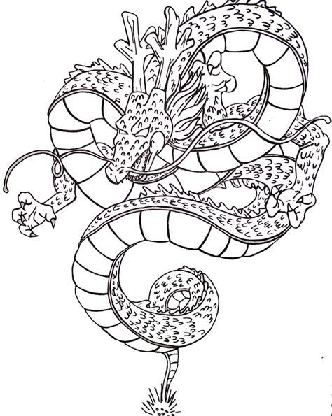 dragon ball z shenron coloring pages dragon ball z shenron coloring pages sketch coloring page