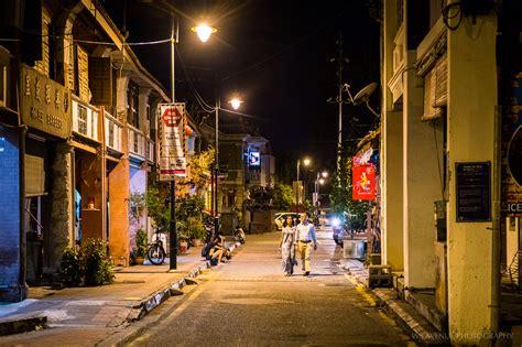 george town  night penang street scenes wt journal