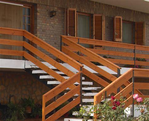 barandilla de madera exterior barandillas de madera para exterior great zyc with