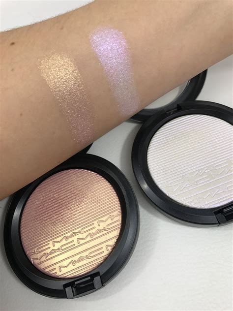 mac beaming blush extra dimension skinfinish review jerome a briese on beams frosting and macs