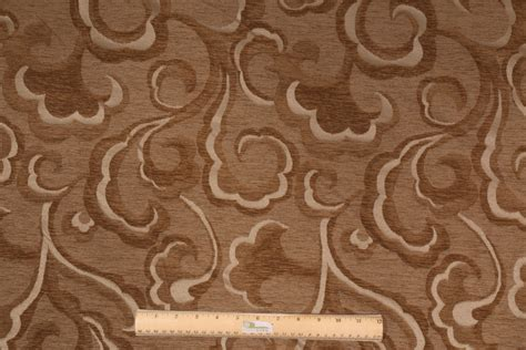 upholstery victoria victoria chenille damask upholstery fabric in moss