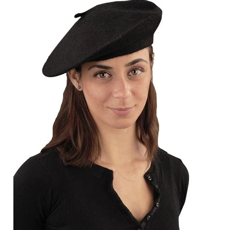 cheap black beret at go4costumes