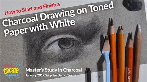 How To Make Charcoal Paper - how to draw with charcoal sofft knife on toned paper
