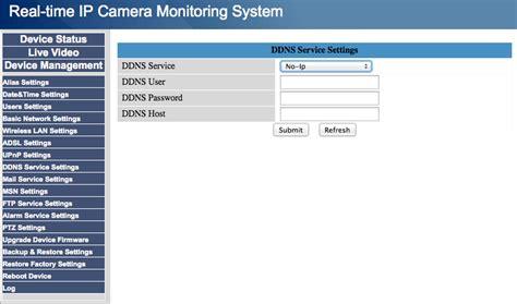 dyndns forwarding foscam ddns configuration support no ip knowledge base