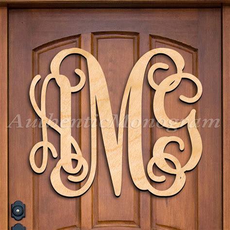 Monogram Letter Door Hanger