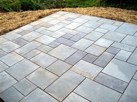 Paver Patio Stones Paver Patio Makeover Sawdust 2 Stitches