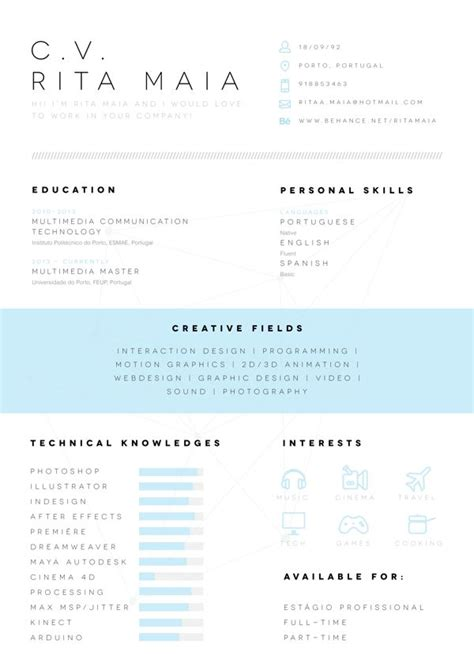 Great Looking Creative Resumes by 135 Best Images About Beautifully Designed Resumes On