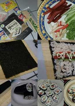 resep sushi rumahan  enak  sederhana cookpad
