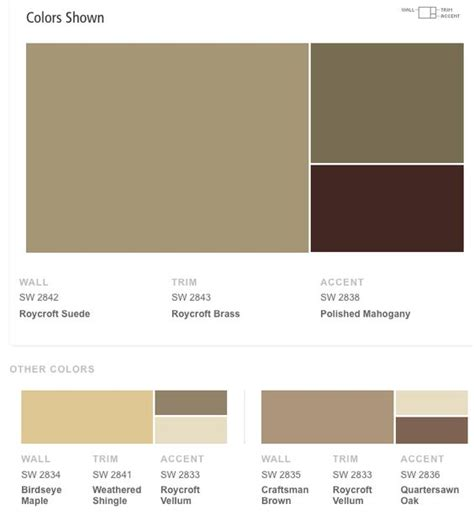 sherwin williams craftsman exterior color schemes craftsman bungalow exterior