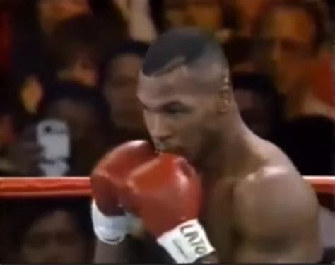 Mike Tyson Wants To Fight A In The Ring by Mike Tyson Fight From 1995 Shows A Time Traveller Using
