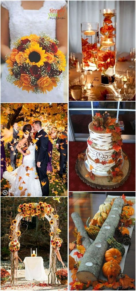 Best 25  Fall Wedding ideas on Pinterest   Fall wedding