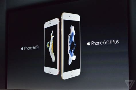 iphone 6s plus announced with 3d touch and new 12 megapixel the verge