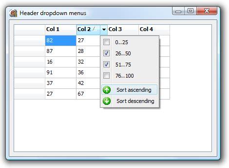 delphi checkbox tutorial tms software tadvstringgrid exle