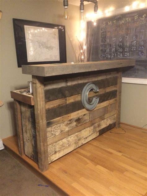 reclaimed wood bar   pallets reclaimed wood