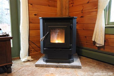 Installing A Pellet Stove In A Fireplace by Pellet Stoves Installation In A Basement Images