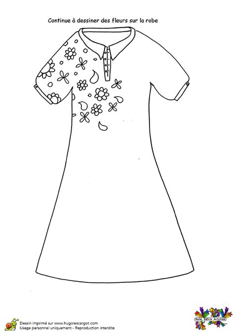Exemple Cuisine En L 2053 by Coloriage Activit 233 Dessin De Fleurs Sur La Robe