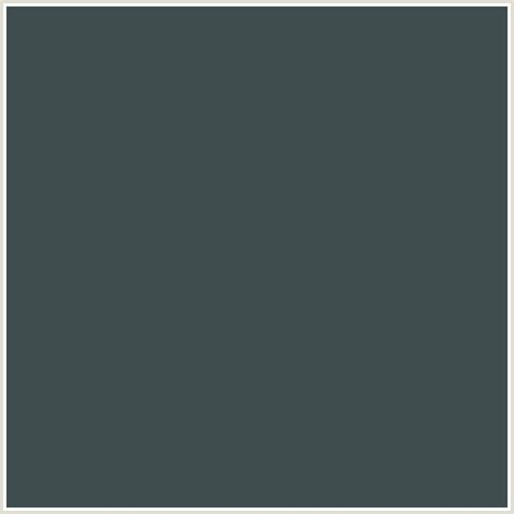 what color is the 3f4d4f hex color rgb 63 77 79 light blue limed spruce