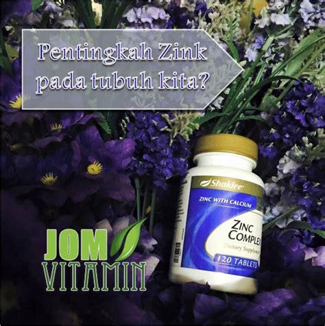 Vitamin Zinc Shaklee 19 kelebihan dan kebaikan zinc complex shaklee jom vitamin