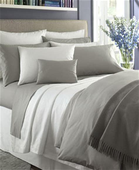 Duvet Versus Comforter Decorating With Grey Sferra S Luxe Bedding Collections