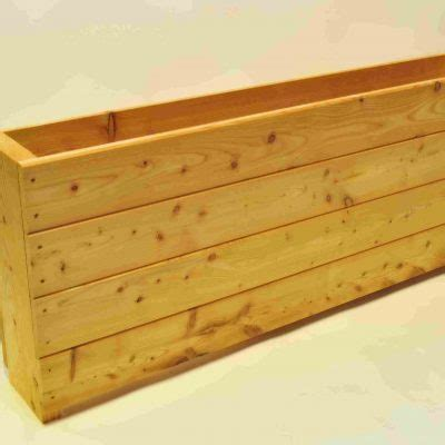 Narrow Trough Planter by Narrow Planters 2pack Garden Larch Limited