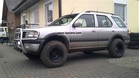 opel frontera 2002 pictures of opel frontera b 2002 auto database com