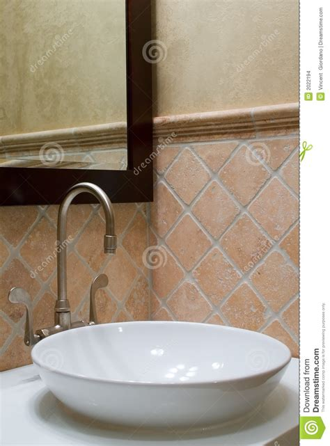 custom bathroom sink custom bathroom sink and mirror stock images image 2022194