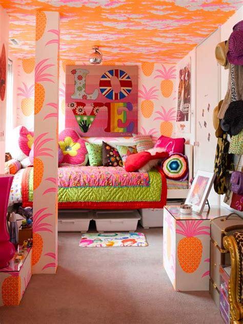 colorful teenage girl bedroom ideas 33 wonderful girls room design ideas digsdigs