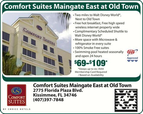 comfort inn kissimmee 192 comfort suites maingate east at old town kissimmee fl
