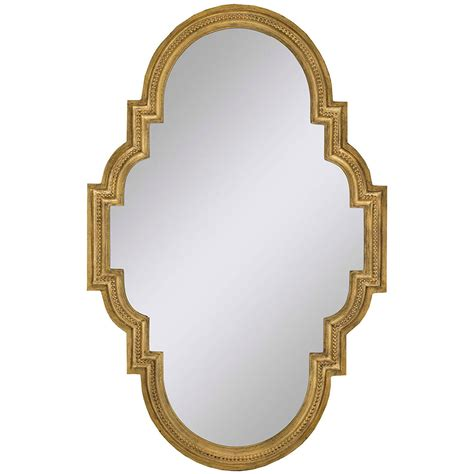 Gold Decorative Mirror by Gold Stellar Oval Mirror Oval 36 X 23 Inch Mirrors