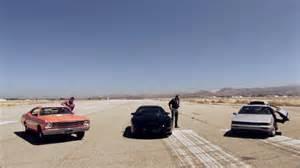 Delorean vs kitt vs general lee hollywood cars top gear usa