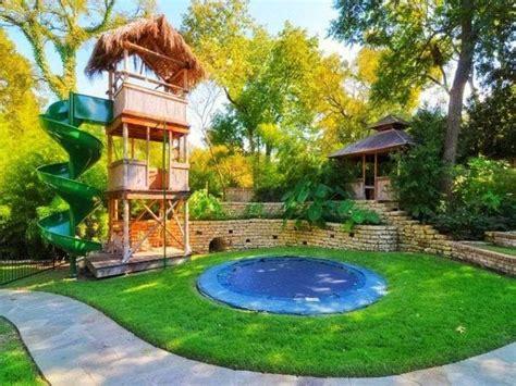 Backyard Ideas For Toddlers Aire De Jeux Jardin Id 233 Es Cr 233 Atives Pour Les Enfants