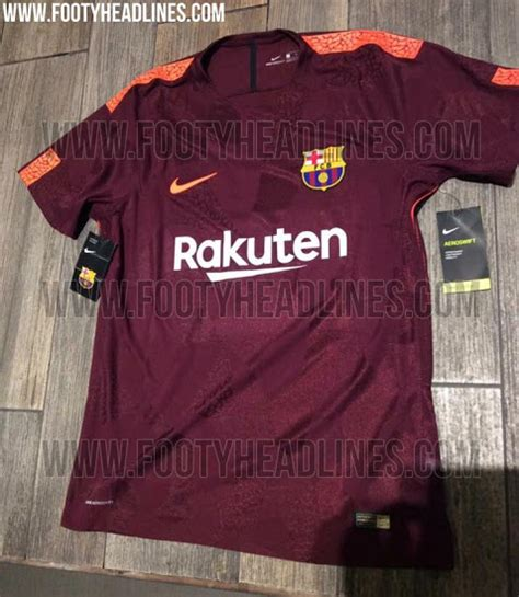 Barcelona 3rd 2017 Set new pictures of barcelona s 2017 18 third kit leaked