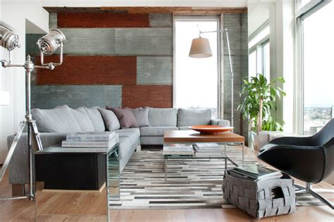 Modern Industrial Living Room by 8 Homes With Industrial Style That Make Warehouses And Factories Seem Totally Chic Photos