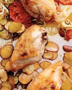sheet pan suppers martha stewart everyday food