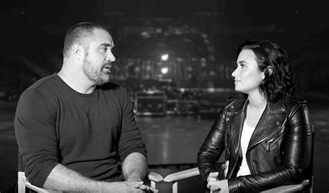 demi lovato and cast centers standout mike bayer mike bayer and demi lovato s cast