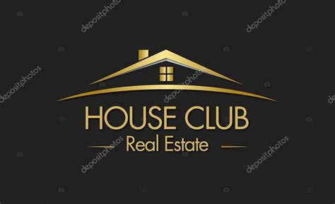 real estate house pictures house club real estate logo stock vector 169 viewpixel 64530605