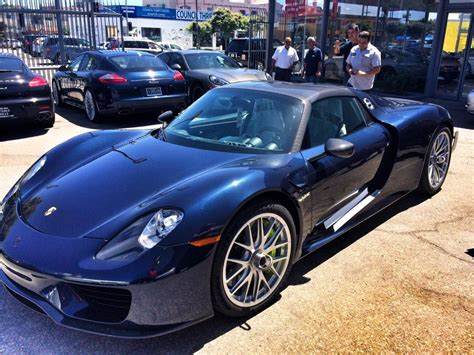 seinfeld porsche 918 918 test drive at infineon sears point on wednesday june
