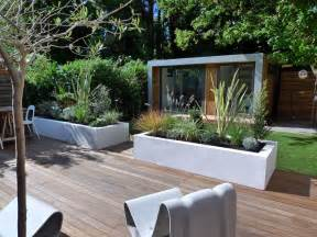 modern style and design in a london garden london garden
