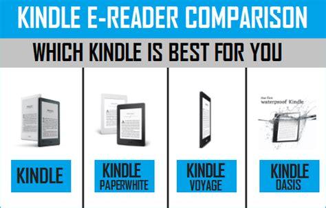 best buy ereader kindle e reader comparison which kindle to buy