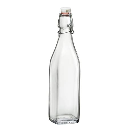 swing top glass bottle bormioli rocco 17 oz glass oil vinegar bottle