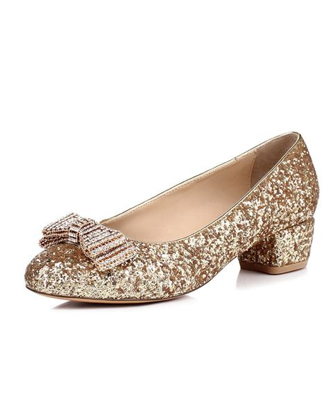 flat sparkly shoes comfortable low heel flat wedding shoes with sparkly bow