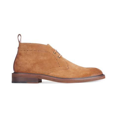 hilfiger chukka boots hilfiger concord chukka boots in brown for