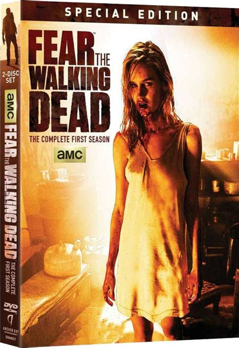 The Walking Dead The Complete 3rd Season Dvd New Sealed fear the walking dead dvd news press release for the
