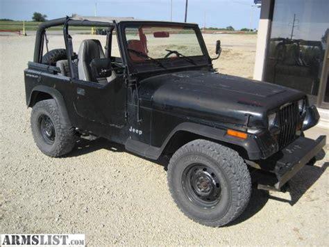 92 Jeep Wrangler For Sale Armslist For Sale Trade 92 Jeep Wrangler Yj