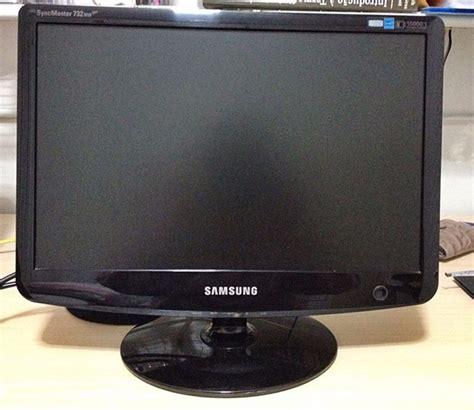 Monitor Lcd Samsung monitor samsung lcd 17 polegadas