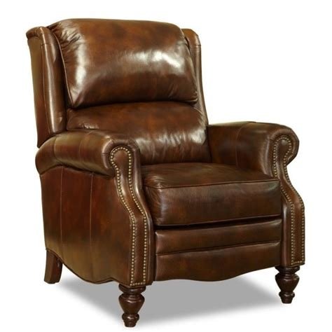 Hooker Furniture Clark Leather Recliner In Al Fresco Recliner Sofas And Chairs