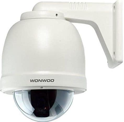 Cctv Wonwoo wonwoo ewsj 283hn outdoor wall mount ptz dome 1 4 quot 613k pixels sony had ii dual