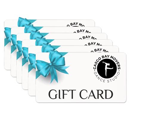 Gift Cards Online - online gift cards dance classes in portland maine casco bay movers