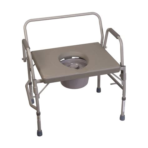 Ebay Commode by Bedside Commode Drop Arm Wide Splash Guard Elevated