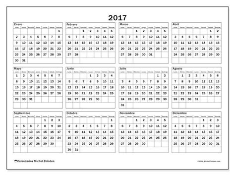 m 225 s de 25 ideas incre 237 bles sobre calendario anual 2017 en